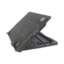 uNiQue Laptop Cooling Pad B9 - Hitam