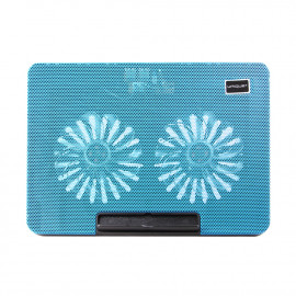 uNiQue Laptop Cooling Pad MaxCool-9 - Biru