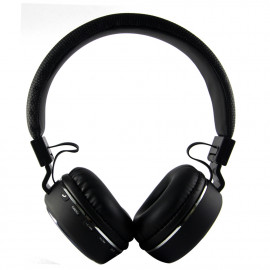 uNiQue Headphones & Headsets Bluetooth Over in Head Multimedia SH18 Black