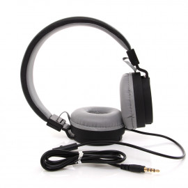 uNiQue Headset In Ear Multimedia Headphone with Built-in Microphone TV-05 Hitam