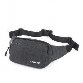 uNiQue Tas Pinggang Outdoor Sport Travel Fitness Running Bag Grey