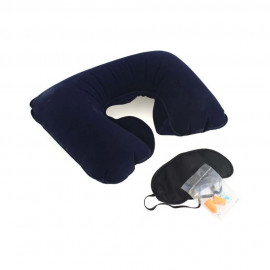 WeekEight Korean Bantal Leher Travel Angin Set Travel Pillow Neck Set