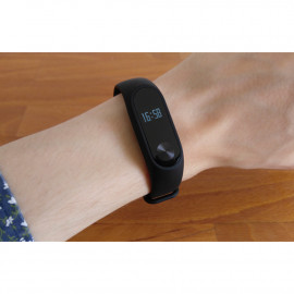 Xiaomi Original Mi Band 2 Pulse Light Senstitive Oled Display
